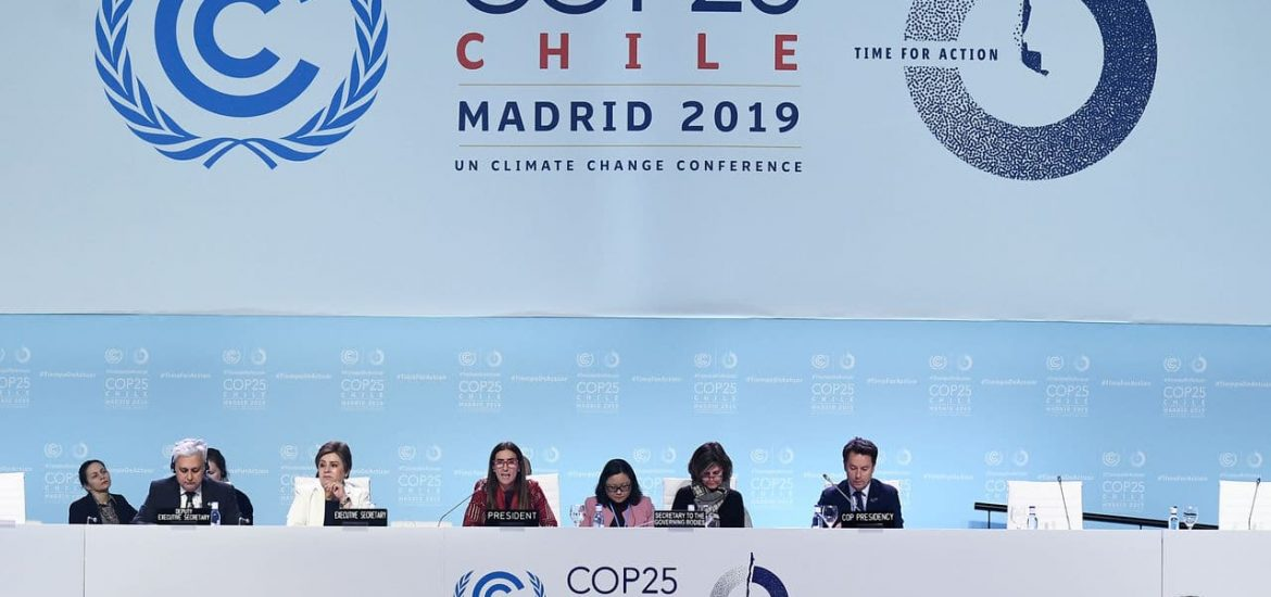 A disappointing end to the COP25 climate talks