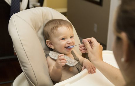 Babies given solid food at 3 months sleep better