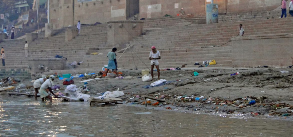 Can 3D maps of India's sacred waterway help fix the pollution problem?