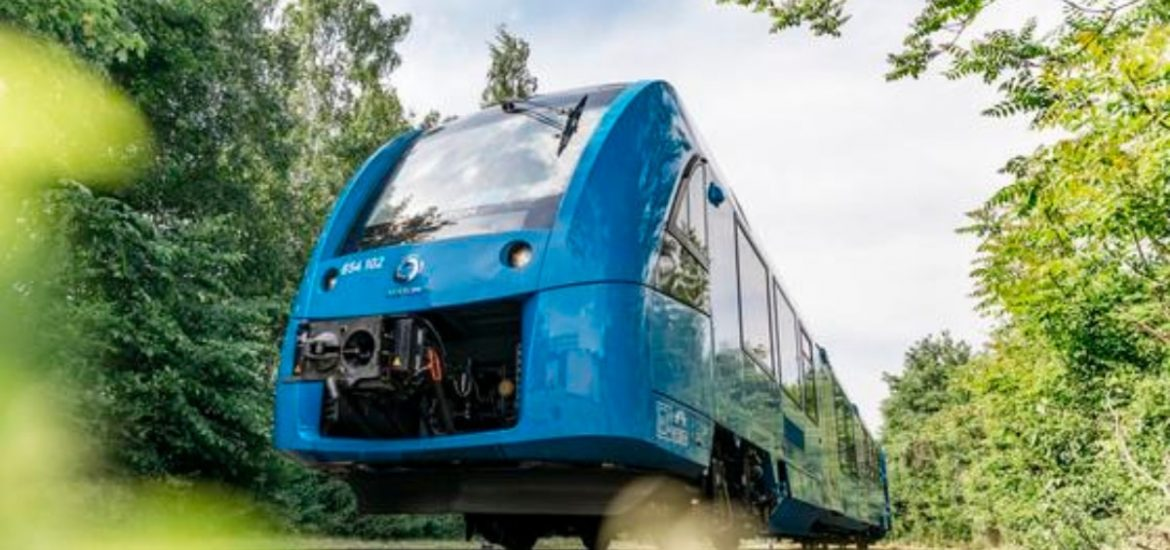 Germany rolls out the world's first hydrogen-powered train