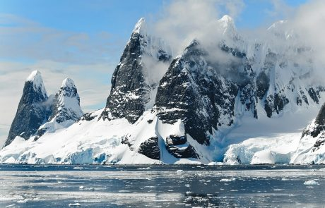 New mountain ranges and canyons discovered in Antarctica