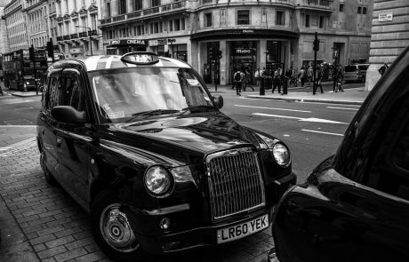 London black cabs go green
