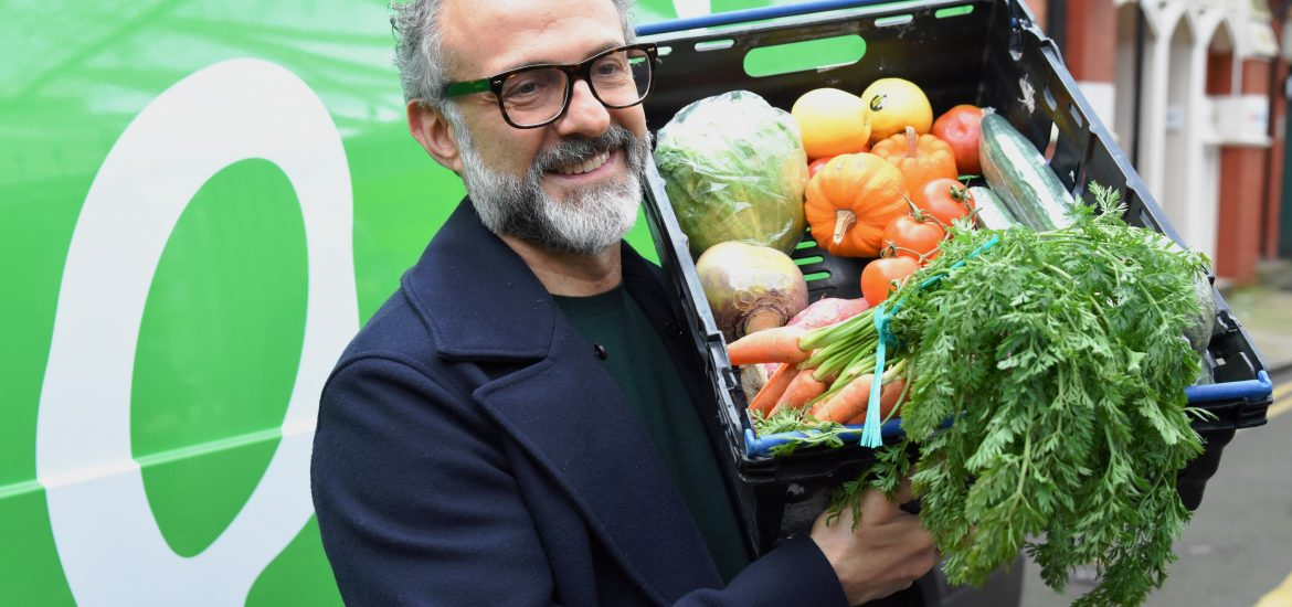 Italian chef opens free gastronomy restaurants serving food made from scraps